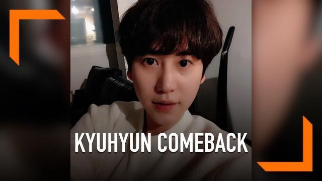 Personel Super Junior, Kyuhyun telah menyelesaikan masa wajib militernya. Kini ia siap kembali dengan rencana album solo dan tayang di acara serial TV.