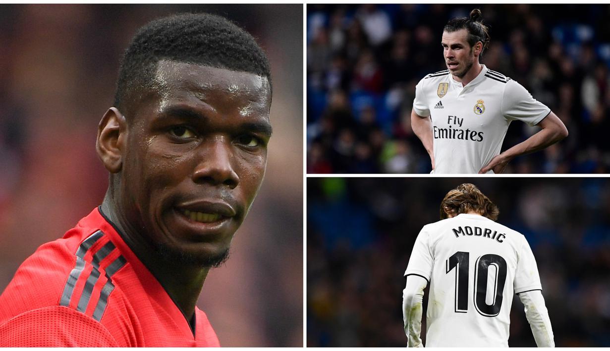 FOTO 7 Pemain Real Madrid Yang Akan Dilego Demi Paul Pogba