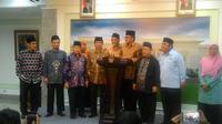 Ormas Islam bertemu dengan Jokowi (Liputan6.com/ Ahmad Romadoni)