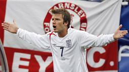 2. David Beckham - Inggris (AFP/Michael Urban)