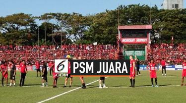 PSM Makassar menjadi juara Piala Indonesia, setelah mengalahkan Persija 2-0 di leg kedua final Piala Indonesia. PSM unggul agregat 2-1 atas Persija.