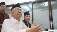 Pengasuh Pondok Pesantren Tebuireng Jombang, Salahuddin Wahid atau Gus Sholah. (Liputan6.com/Dian Kurniawan)