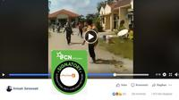 [Cek Fakta] Gambar Tangkapan Layar Video Penyerangan Terhadap Anggota TNI