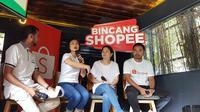Shopee berkolaborasi dengan HiLo School mengkampanyekan pentingnya menjaga keseimbangan gizi anak dengan menggelar Soccer Camp for Super Kids. (Bola.com/Zulfirdaus Harahap)