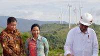Presiden Joko Widodo meresmikan Pembangkit Listrik di Sulawesi Selatan. Foto: Dok Biro Pers Media RI