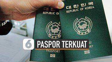 Henley Passport Index merilis daftar baru paspor terkuat di dunia. Salah satu indikasi jadi paspor terkuat karena menawarkan bebas visa ke banyak negara.