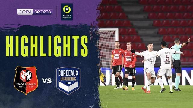 Berita video gol eks pemain Newcastle United dan PSG, Hatem Ben Arfa, saat mengantarkan Bordeaux meraih kemenanga 1-0 atas Rennes pada pekan ke-11 Liga Prancis 2020/2021, Sabtu (21/11/2020) dinihari WIB.