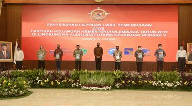 BP Batam menerima opini Wajar Tanpa Pengecualian (WTP) atas Laporan Keuangan Badan Pengusahaan Kawasan Perdagangan Bebas dan Pelabuhan Bebas Batam Tahun 2019.