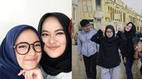 6 Momen Kedekatan Anisa Rahman dan Nissa Sabyan, Mantan Backing Vokal Sabyan Gambus (sumber: Instagram/anisarahmaan dan KapanLagi)