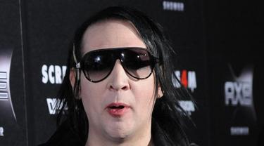 Marilyn Manson Ketagihan Serial Televisi