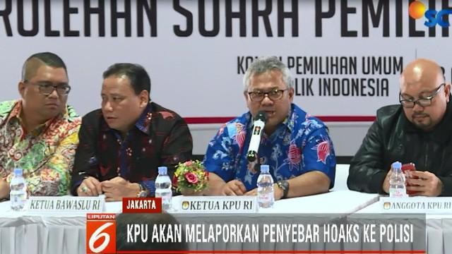 Sikap tegas itu disampaikan Ketua KPU Arief Budiman kepada wartawan di Kantor KPU Jakarta Pusat, Sabtu siang.