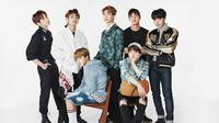 BTS sendiri saat ini tengah disibukkan oleh tur dunia yang bertajuk Love Yourself. (Soompi)