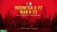 Timnas Indonesia U-22 Vs Timnas Iran U-23 (Bola.com/Adreanus Titus)