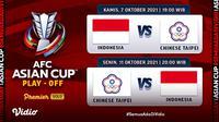 Foto: Latihan Pungkasan Timnas Indonesia Menjelang Kualifikasi Piala AFC 2023 Melawan Taiwan. (Sumber : dok. vidio.com)