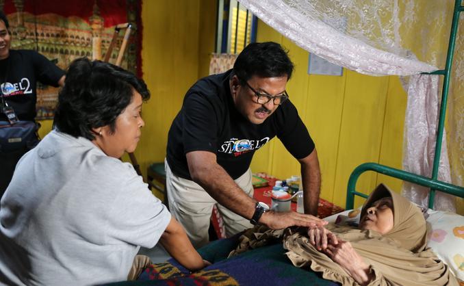 Syuting Si Doel The Movie 2 (Adrian Putra/Fimela.com)