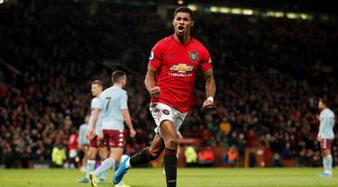 Manchester United Ditahan Imbang Aston Villa di Old Trafford