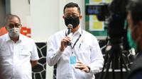 Menteri Sosial (Mensos) Juliari Batubara. (Liputan6.com/Achmad Sudarno)