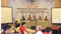 Suasana Rekapitulasi Penghitungan Suara di Wilayah Jakarta Timur. (Foto: Istimewa)