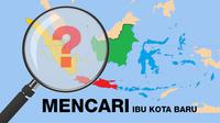 Pemerintah mengkaji pemindahan Ibu Kota pemerintahan dari Jakarta. (Liputan6.com/Abdillah)