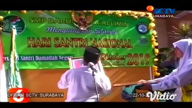 """Pengurus Wilayah Nahdhatul Ulama (PW NU) Jawa Timur akan mengadakan Istighotsah Kubra untuk Keselamatan Bangsa dengan tema besar """"Dedikasi Santri Untuk Negeri""""."""