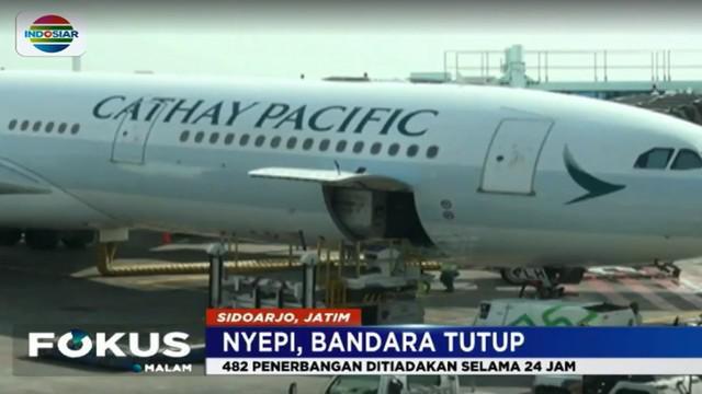 Rute terbanyak yang terkena dampak penutupan bandara ini adalah Rute Denpasar-Cengkareng, Kuala Lumpur, Singapura, Perth dan Surabaya.