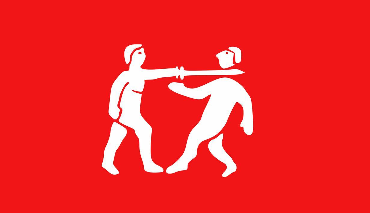 Ini adalah bendera Kekaisaran Benin sebuah pra-kolonial negara Nigeria di Afrika, itu berlangsung 1440-1897. Mungkin zaman itu penuh dengan peperangan sehingga gambar benderanya adalah prajurit yang sedang bertarung. (Wikipedia.com)