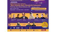 Talkshow Desa Wisata: Ikon Andalan Baru Wonderful Indonesia pada Rabu (24/3/2021). Dok BI