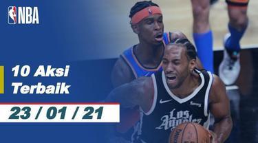 Berita Video 10 Aksi Terbaik NBA 23 Januari 2021, Slam Dunk Keren Jarrett Allen