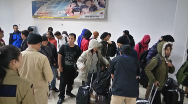 TKI Tiba di Bandara Soetta