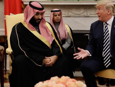 Putra Mahkota Saudi Bertemu Trump di Gedung Putih