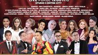 Kiss Awards 2020 ditayangkan Indosiar 2 hari yaitu Sabtu (19/12/2020) dan Minggu (20/12/2020) pukul 19.00 WIB