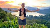Jamin Heppell berlari sejauh 90 kilometer dan berhasil mengumpulkan dana sekitar Rp100 juta untuk membantu anak-anak di Bali. (ABC Australia)