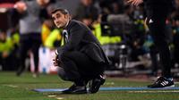 Ernesto Valverde. (AFP/Lluis Gene)