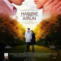 Poster film Habibie dan Ainun. FOto: via indonesianfilmcenter.com
