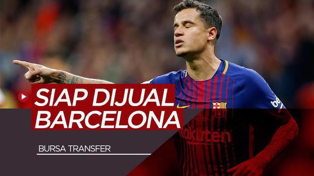 Berita Video 5 Pemain yang Siap Dijual Barcelona, Termasuk Philippe Coutinho