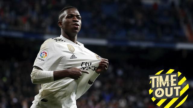 Berita video Time Out yang membahas para pemain termuda di La Liga musim 2018-19 termasuk pemain Real Madrid, Vinicius Junior.