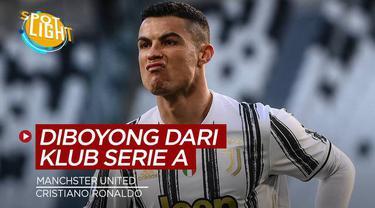Berita video spotlight kali ini membahas tentang deretan pemain yang diboyong Manchester United dari klub Italia.