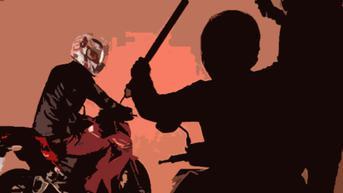 Kawanan Begal Sadis Bacok Pengendara Motor di Bekasi