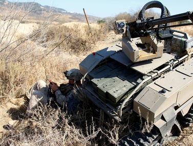 20160714-MUTT, Tank Tanpa Awah Canggih Milik Militer AS
