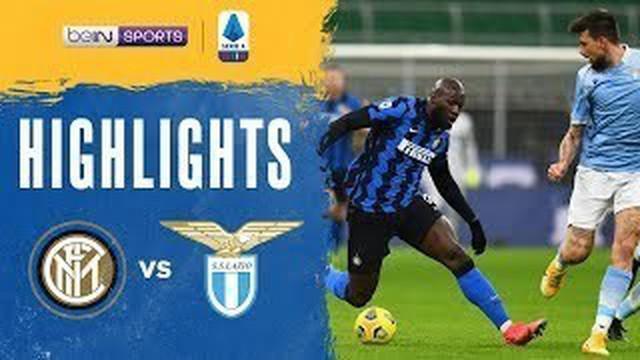 Berita video highlights Liga Italia 2020/2021 untuk pertandingan pekan ke-22 antara Inter Milan melawan Lazio yang berakhir dengan skor 3-1, di mana Romelu Lukaku menorehkan dua gol, Senin (15/2/2021) dinihari WIB.