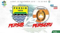 Liga 1 2018 Persib Bandung Vs Perseru Serui (Bola.com/Adreanus Titus)