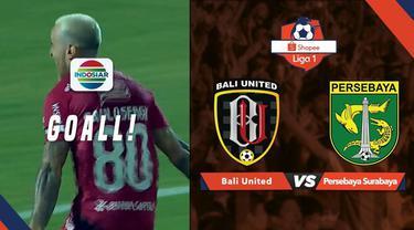 Berita video kerja sama apik yang ditunjukkan pemain Bali United saat menghadapi Persebaya Surabaya di Shopee Liga 1 2019, Kamis (16/5/2019).