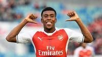 Pemain Arsenal, Alex Iwobi. (AFP/Jonathan Nackstrand)
