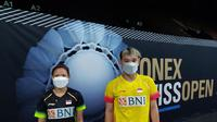 Ganda campuran bulutangkis Indonesia, Rinov Rivaldy/Pitha Haningtyas Mentari. (Dok. PBSI)