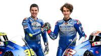 Duo Suzuki Ecstar Joan Mir dan Alex Rins. (Dok MotoGP)