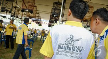 Walikota Cup Lubuklinggau 2014 digelar untuk menyambut Hari jadi Kota Lubuklinggau, Sumatera Selatan yang ke-13, Sumatera Selatan, Minggu (12/10/2014) (Liputan6.com/Faizal Fanani)