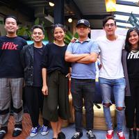 Preskon Iflix (Adrian Putra/bintang.com)