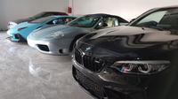 TDA Luxury Toys tawarkan supercar berkualitas. (Arief / www.sulawesita.com)