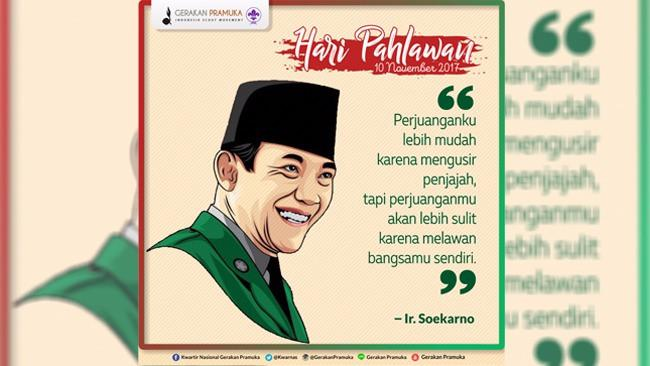 Kutipan Keren Para Pahlawan Nasional Siapa Favoritmu