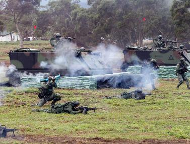 Latihan Militer Tentara Taiwan